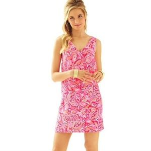 Lilly Pulitzer Dress Calissa Sleeveless V-Neck